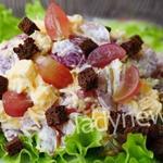 Сочный салат «Сырный принц» - быстрый в приготовлении