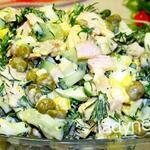 Вкусный и легкий салат на каждый день — рецепт с фото