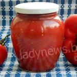 Болгарский перец в томате на зиму – пошаговый рецепт с фото