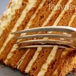 Медовик заварной с кремом Пломбир. Не торт, а сказка!
