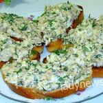 Фантастические бутерброды с рыбкой — готовится очень быстро