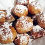 Пончики с яблоками — готовятся очень легко и быстро