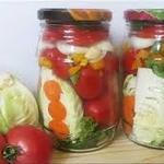 Маринованные помидоры с капустой – идеальная заготовка на зиму