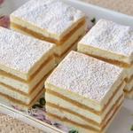 Торт с яблоками на белках - рецепт нежного бисквита