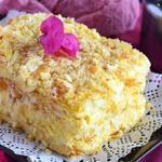 Замечательный рецепт быстрого слоеного торта