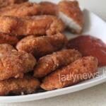 Куриные наггетсы с хрустящей корочкой на сковороде