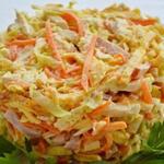 Пикантный салат Анастасия — легкий и сочный