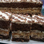 Нежный, вкусный кокосовый торт