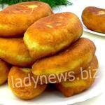 Быстрые пирожки на кефире, без яиц и с вкуснейшей начинкой