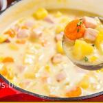 Сырный суп с кукурузой — божественный вкус