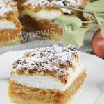 Яблочный пирог с безе – пошаговый рецепт с фото