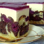 Торт Красная Шапочка с вишнями и творогом